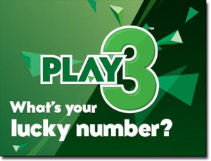 New Zealand Play 3 lottery
