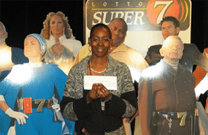 Sharon Tirabassi lottery winner
