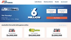 Oz Lotteries