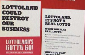 Tatts Lottoland campaign