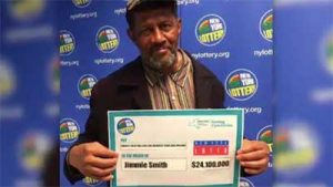 Jimmie Smith finds winning lottery ticket a year later